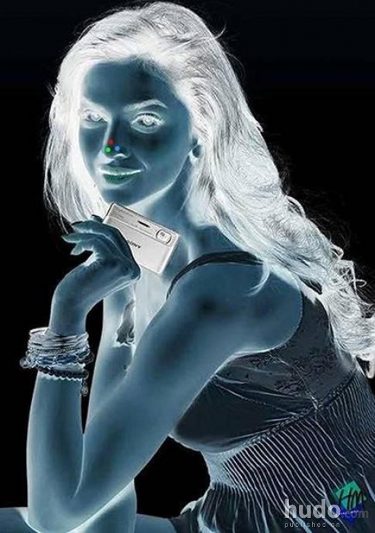 Stare at the picture for 20 sec then look away and blink with both eyes