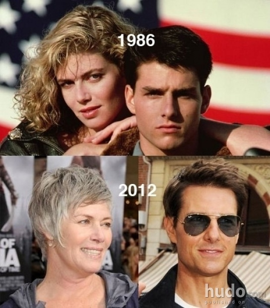 Tom Cruise is not getting older...still sexy! :D
