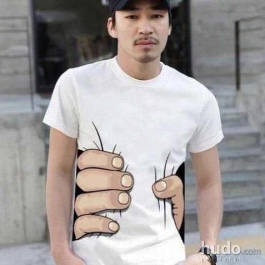 T-shirt that squeezes the hell outta u