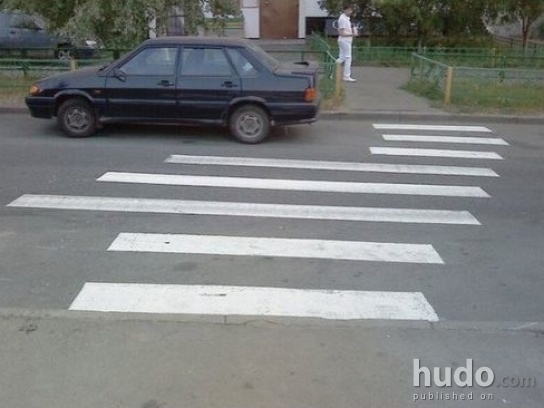 Lazy road painters