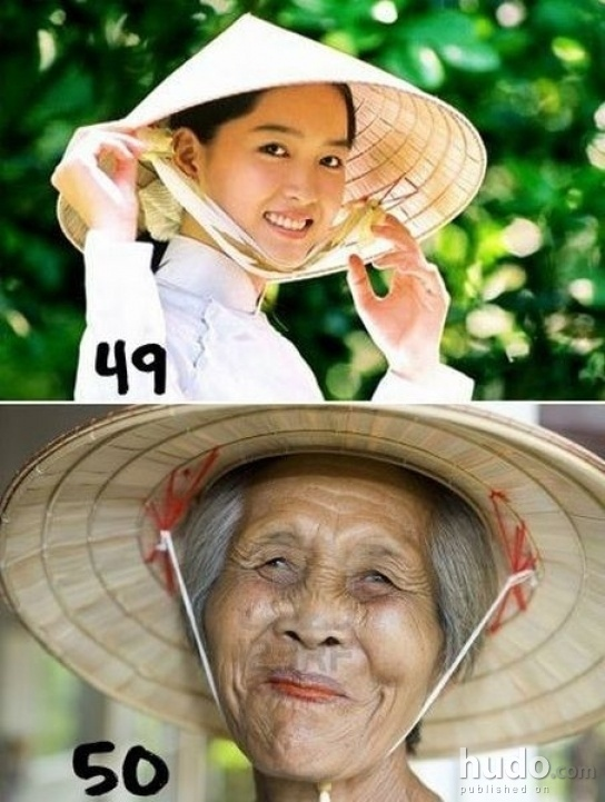 This is how they grow old in Asia
