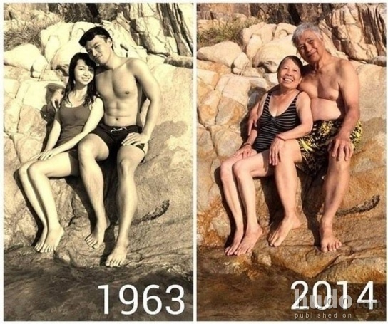After 50 years nature is the same but they are..