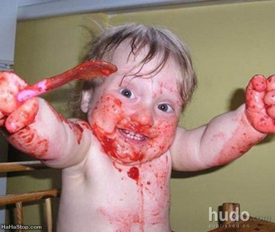 Baby will eat your brains!