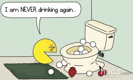 Pacman had a really rough night