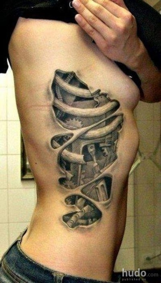 This is one of the coolest tattoos we have ever seen