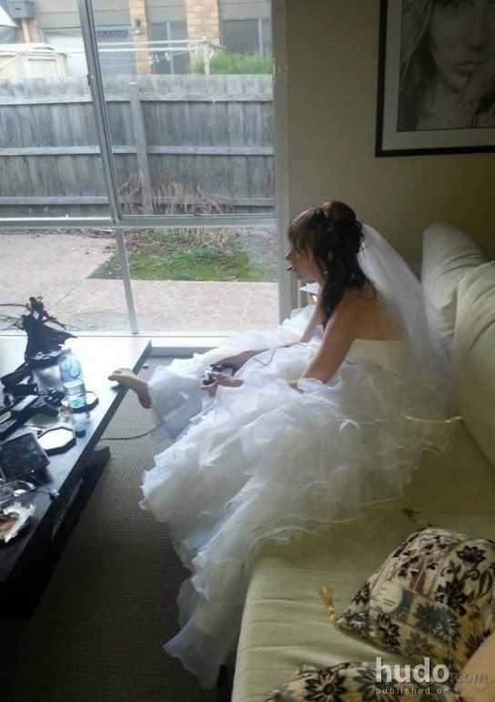 We wish all the brides were like that