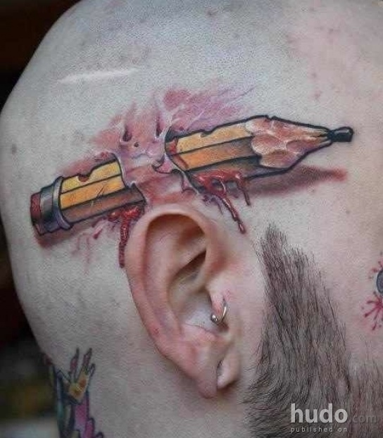 Is this the coolest tattoo ever made?